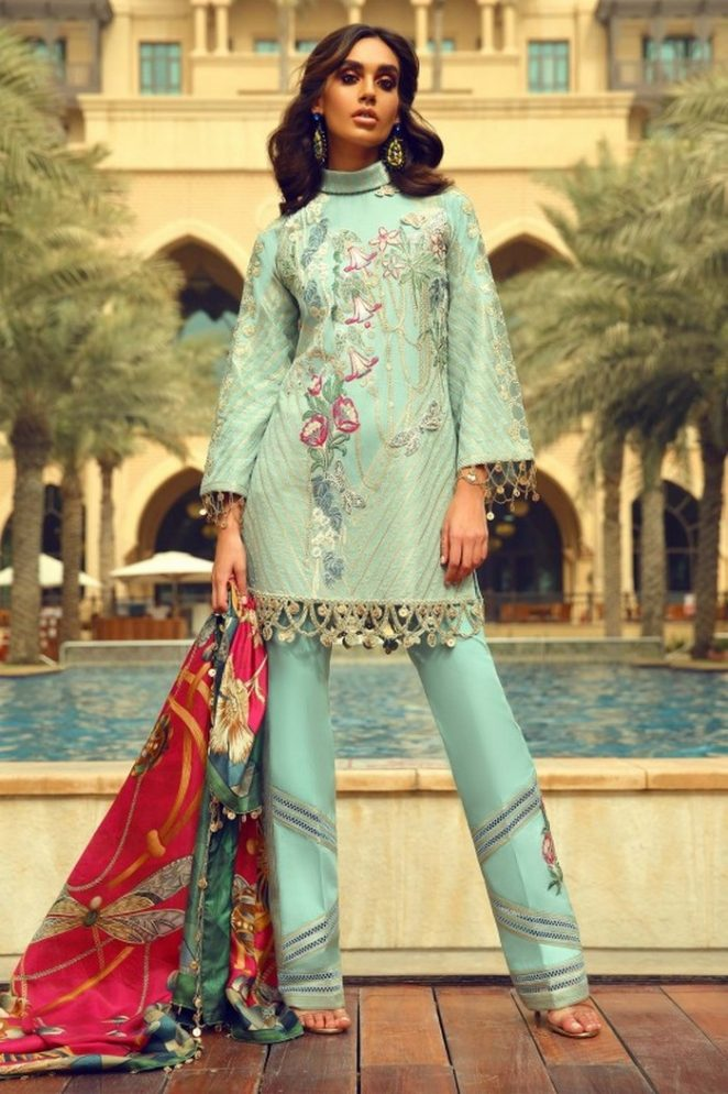 Faraz Manan Qurbani Luxury Dresses 2018