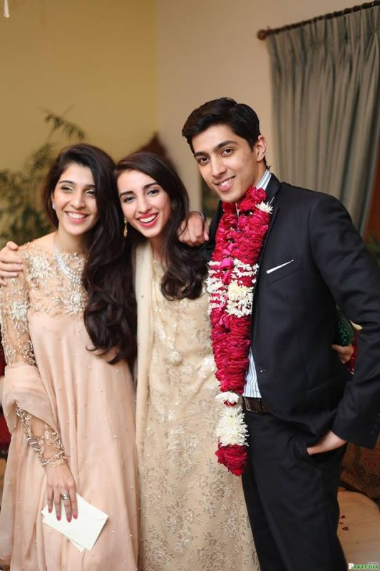 Picture of Jagarhi Tarin Sohn Ali Tarin Engagement