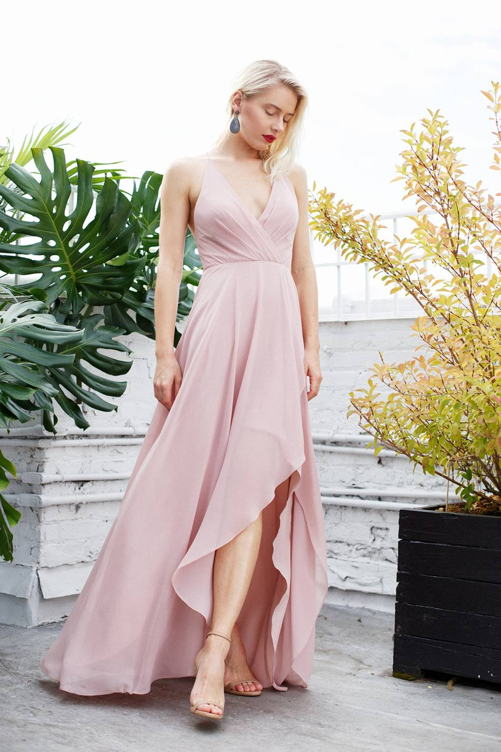 Supper Pink Bridesmaid Dresses Design 2018