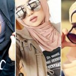 Awesome Professional Hijab With Elegant Sunglass 2018