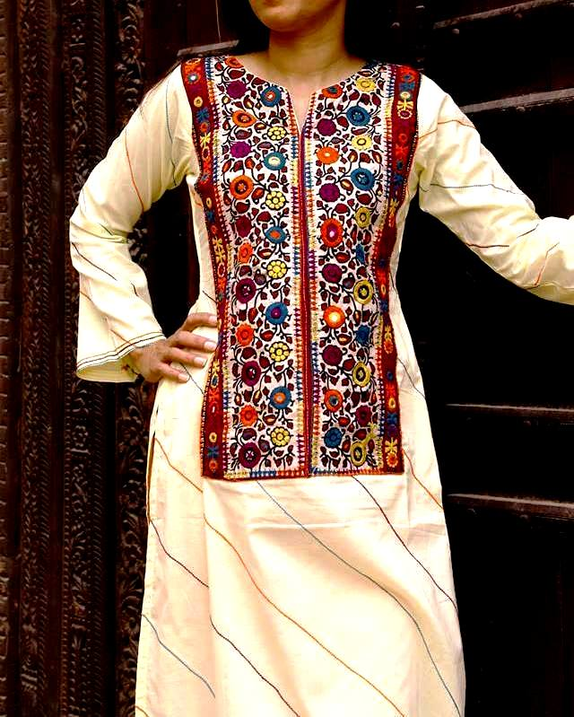 Excellent Sindhi Embroidery Salwar Kameez Ideas 2019