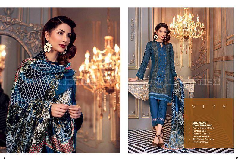 2053631f7c Gul Ahmed Winter Stunning 2019 Dresses Ideas (6) – MagazineVogue.com