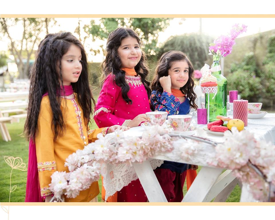 Kids Winter Season Catalog Stitched Dresses 2019