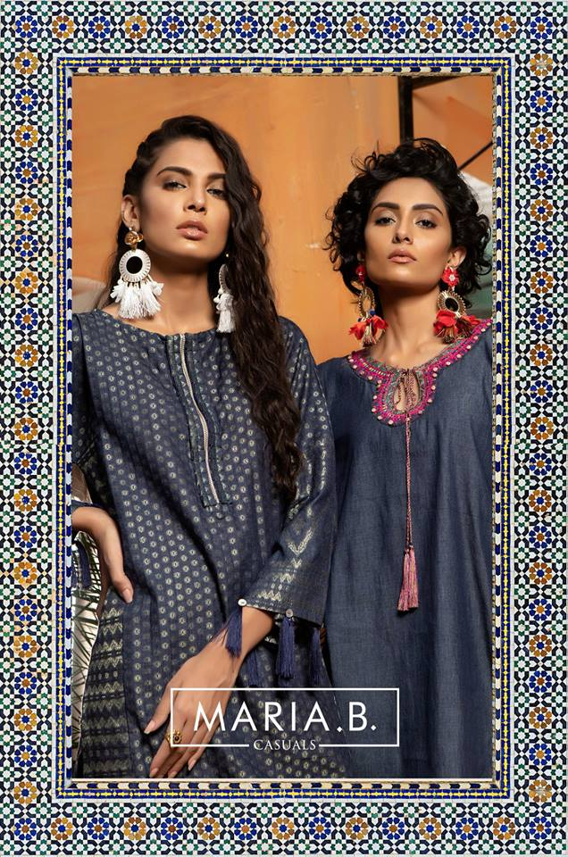 MARIA.B Casuals Marrakesh Winter 2019 Stitched