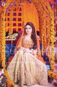 Mehndi Dresses Choice Pakistani Cute Brides 2019