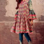Elegant Winter Muslim Girls Frock Designs 2019