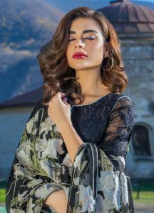 Awesome Erum Khan Embroidered chiffon Dresses 219