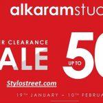 Best Alkaram Winter Sale Online Shop 2019
