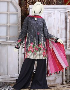J. Winter Collection Unstitched Suit Newyear 2019