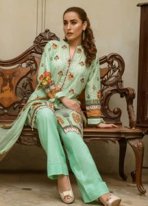 Kalyan By ZS Textiles Embroidered Digital Design 2019