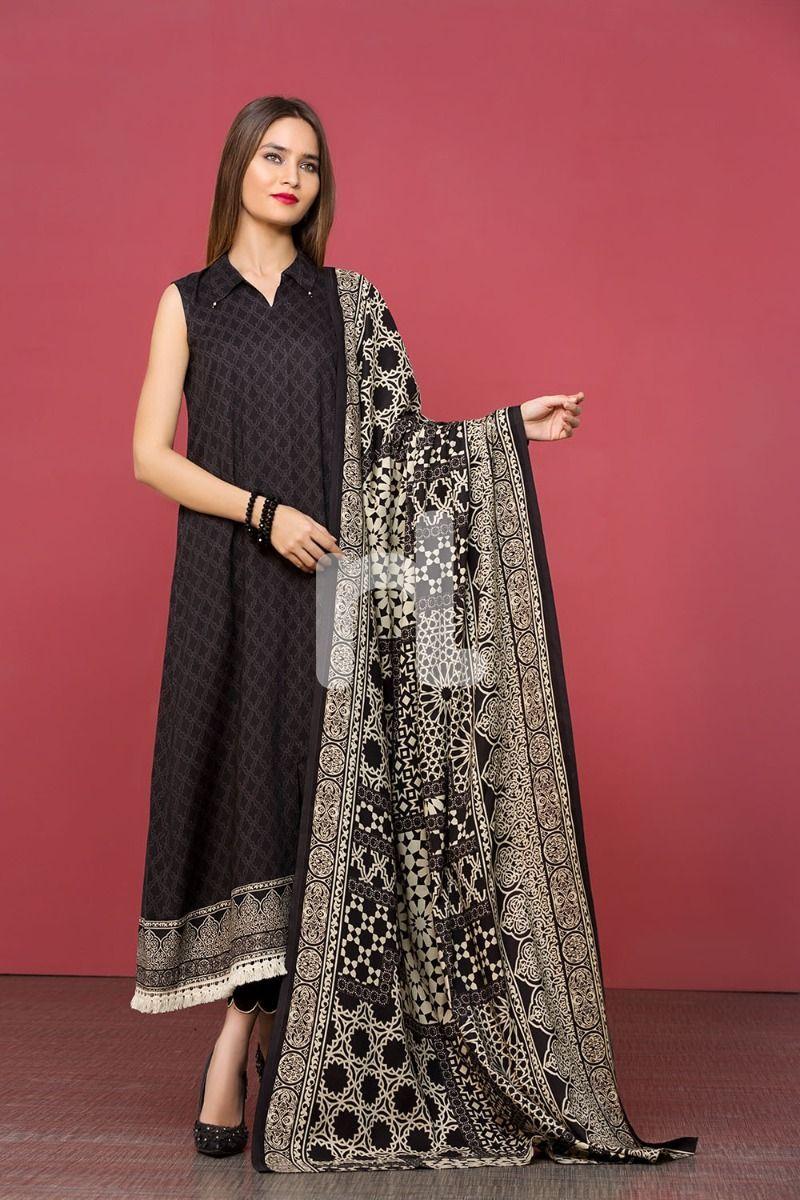 nishat linen unstitched winter clothing ideas 2019 5. Black Bedroom Furniture Sets. Home Design Ideas