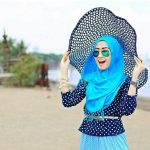 Awesome Hijab Styles with Hats Design 2019