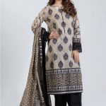 Bonanza satrangi Summer Starting Lawn Dress 2019