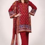 Kayseria Red embroidered Shirts Looking Ideas 2019
