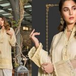 Maria B Casual Wear Winter Suiting Design 2019