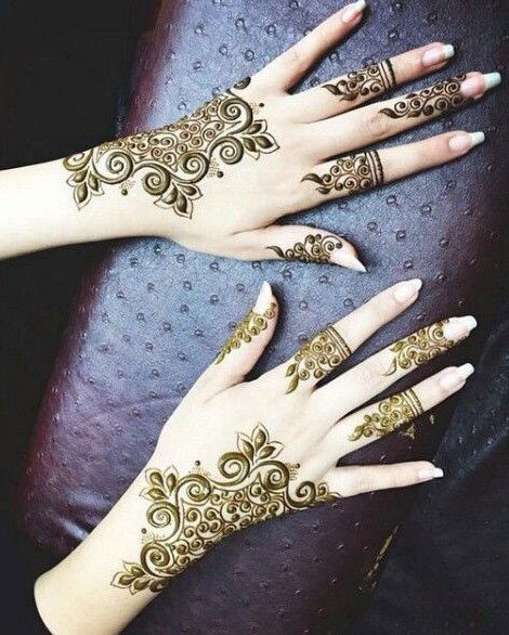 Styilsh Arabic Mehndi Design Cute Hands 2019 Magazinevogue Com