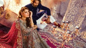Stylish Emaan Adeel Bridal Wear Dresses in Pakistan 2019