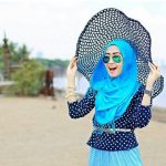 Beautifull Hijab Styles with Hats-Tips to wear caps Hijab 2019