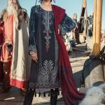 Latest Maria B Winter Linen Dress With Price 2019