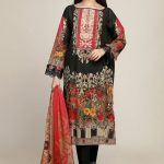 Onlain Khaadi Lawn Spring Summer Suit with Price Tag