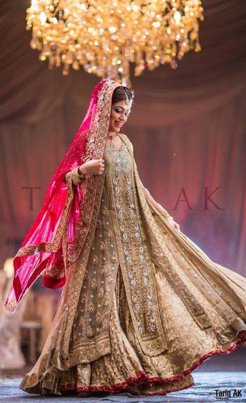 Excllent Pakistani Bridal Lehnga Choli For Girls 2019
