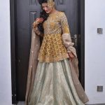 Excllent Pakistani Bridal Lehnga Choli For Girls 2019