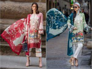 Excllent Sana Safinaz Stylish Lawn Suit Collection 2019