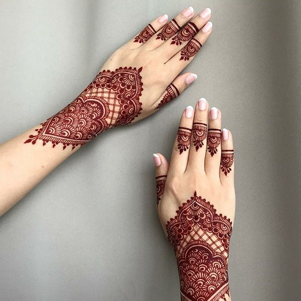 Latest Mehndi Designs for Hands, feet, finger 2019 (5