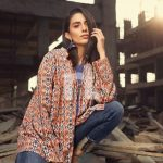 Onlain Nishat Linen Digital Printed Suit for summer Tops 2019