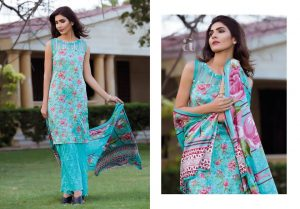 Firdous Charming Look Embroidered shirts Eid 2019
