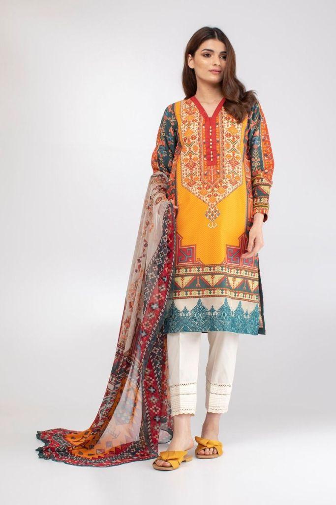 Khaadi Eid Embroidered Kurta Stylish Look 2019