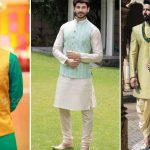 Espcial Kurta Ideas Mens Mehndi Dresses 2019