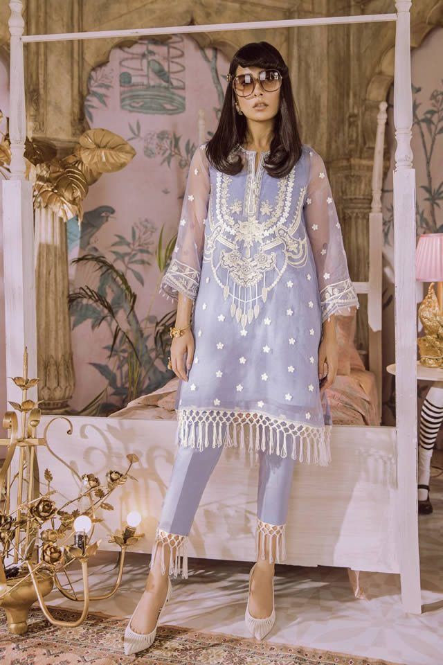 Luxury Lawn Design by Outfitters Summer Fashion 2019