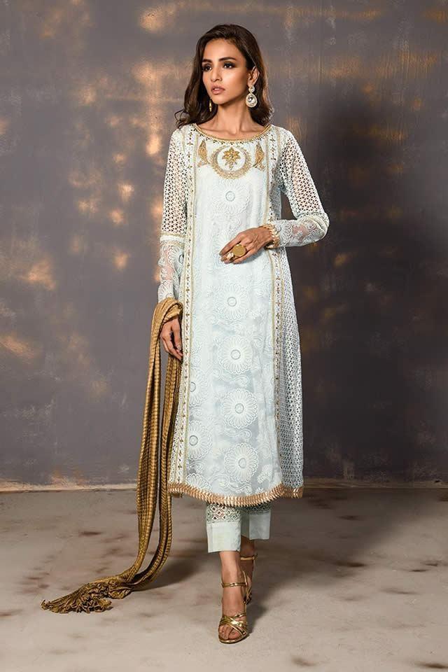 Awesome Wardha Saleem Luxury Eid Dresses Look 2019