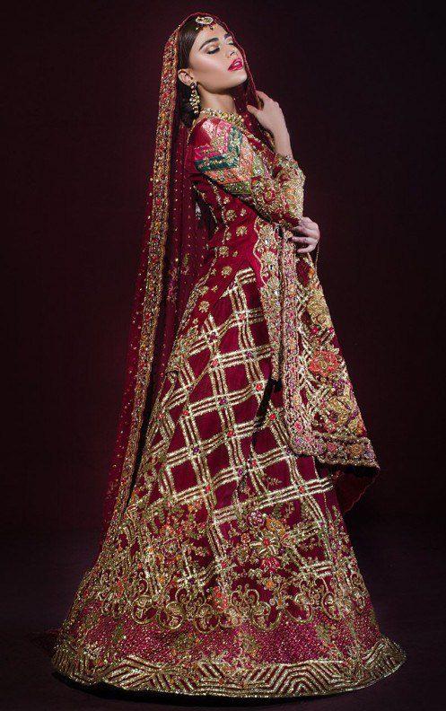 Stunning Bridal Barat Looking Suit Designs 2019