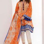 Best Khaadi Linen Unstitched Winter Dresses 2019 Vol-1