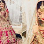 Bridal Photoshoot of Beauti Queen Kinza Hashmi 2019