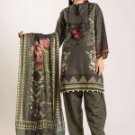 Awesome Khaadi Winter Vibe Unstitched Shirt Ideas 2019