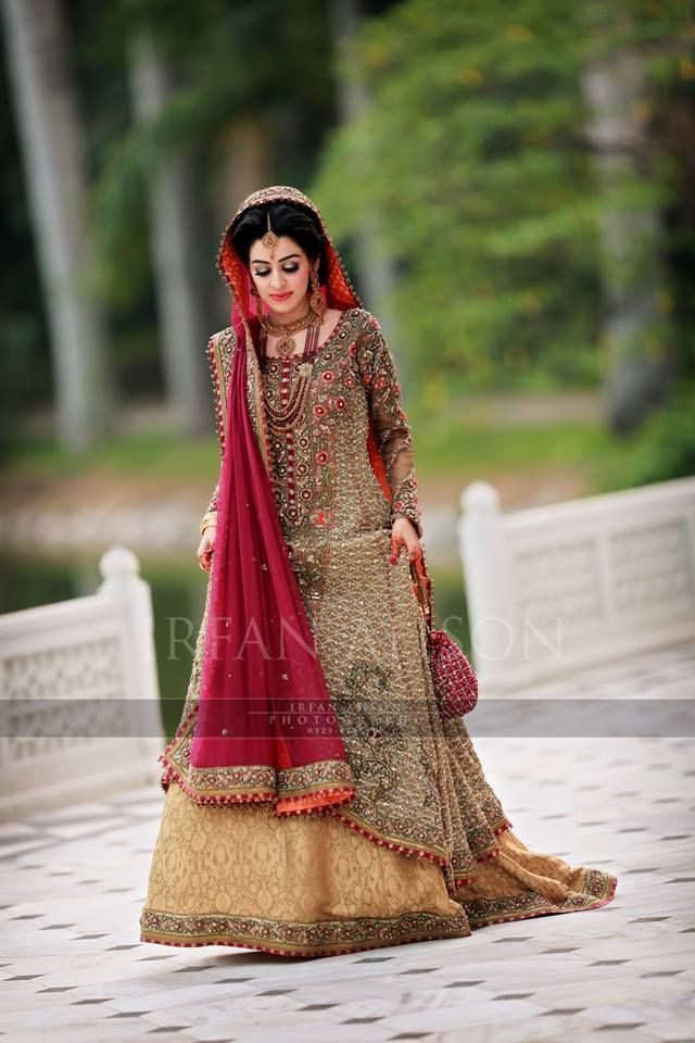 Awesome Pakistani Traditional Cultural Bridal Dresses 2019