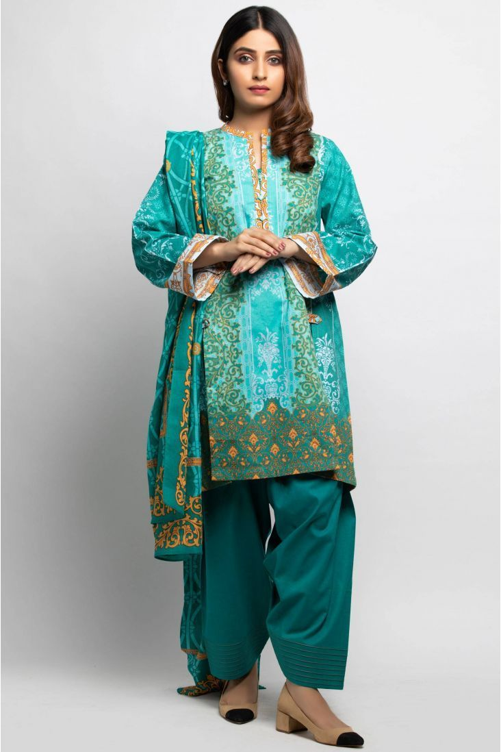 Zeen Ladies Fashion Unstitched Khaddar Winter 2020