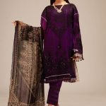 Awesome Khaadi Luxury Velvet Winter Design 2020