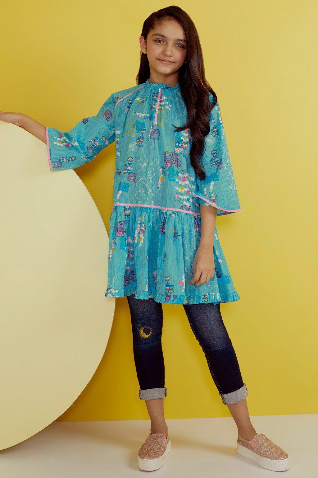 Awesome Alkaram Studio Kids Wear Ideas Kurti 40% Off Price