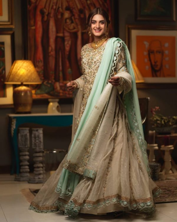 Beautiful Actress Hira Mani Bridal Photo Shoot 2020