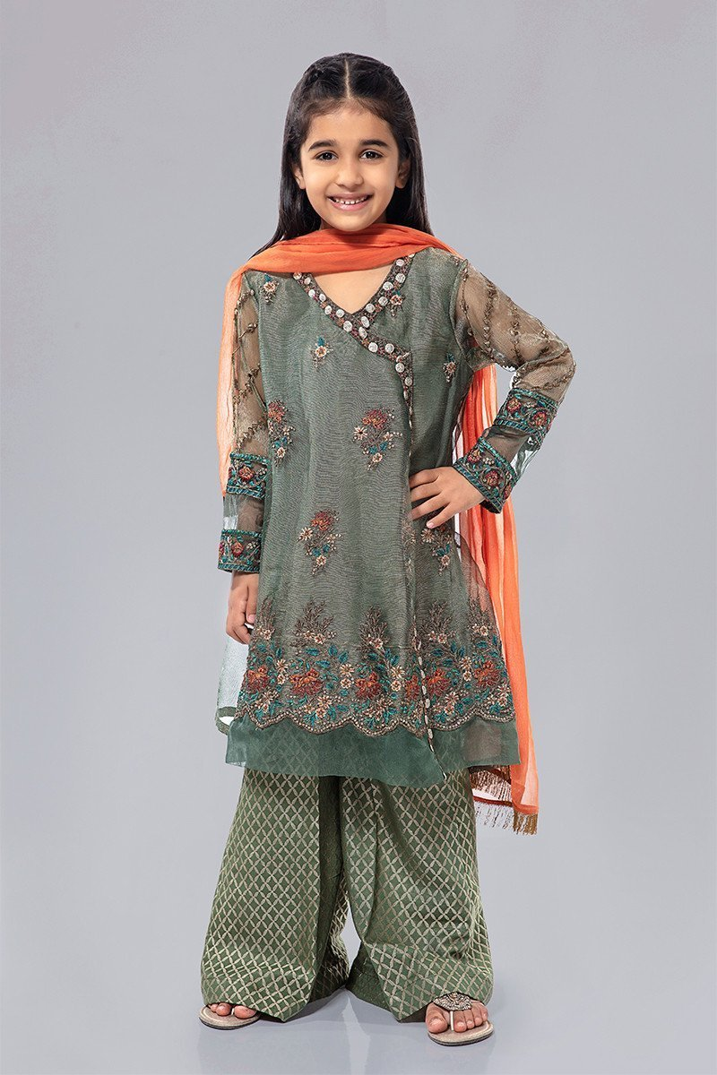 Awesome Maria B Eid Dresses Designs kids Look 2020