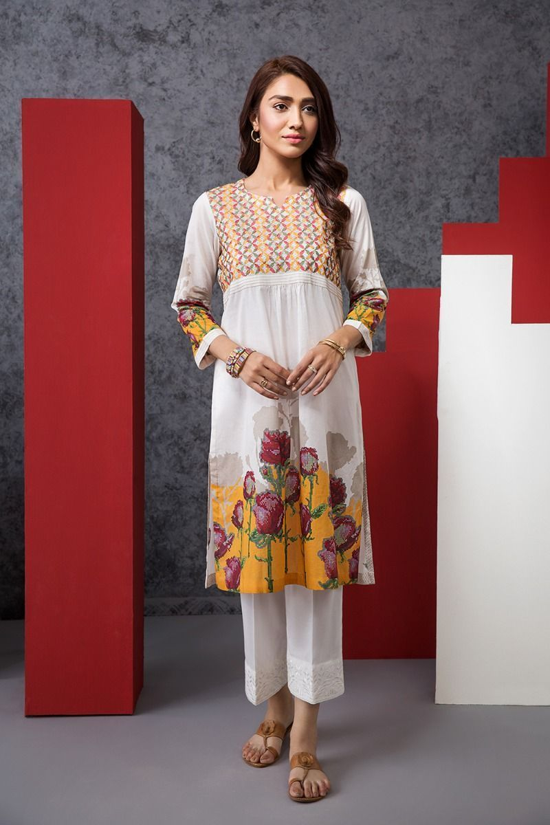 Nishat Linen Summer Wear Lawn Shirts & Trousers 2020