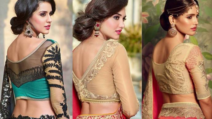 Awesome Blouse Sleeve Structures & Necklines Design 2020