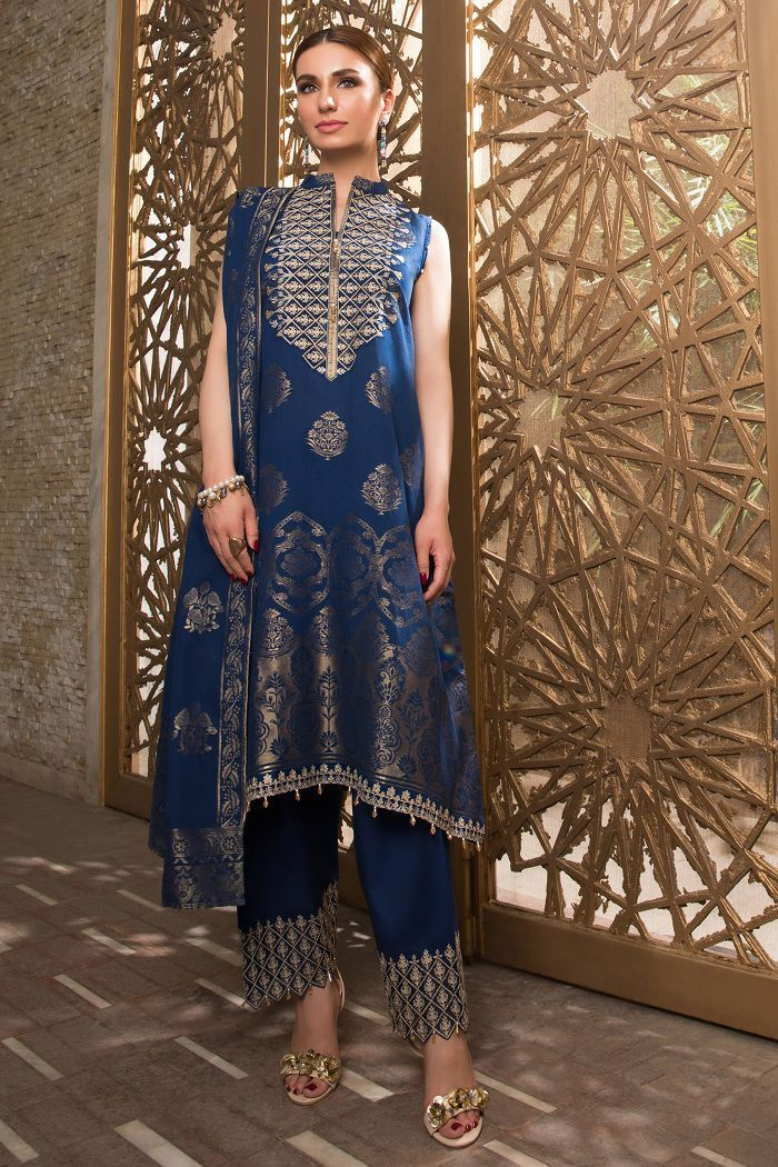 Awesome Sapphire Eid Collection Looking Dresses 2020