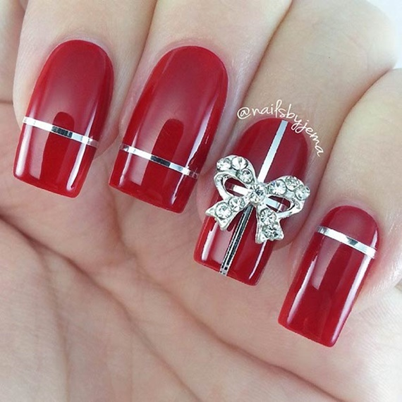 Beautifull Best Nail Art Trend For Christmas 2020