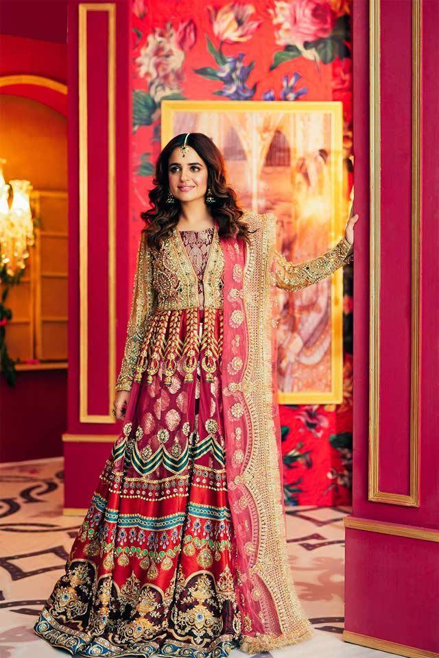 Beautifull Mehndi Dresses For Girls Looking Design 2020