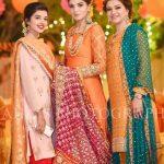 Formal Mehndi Dresses Looking Design 2020
